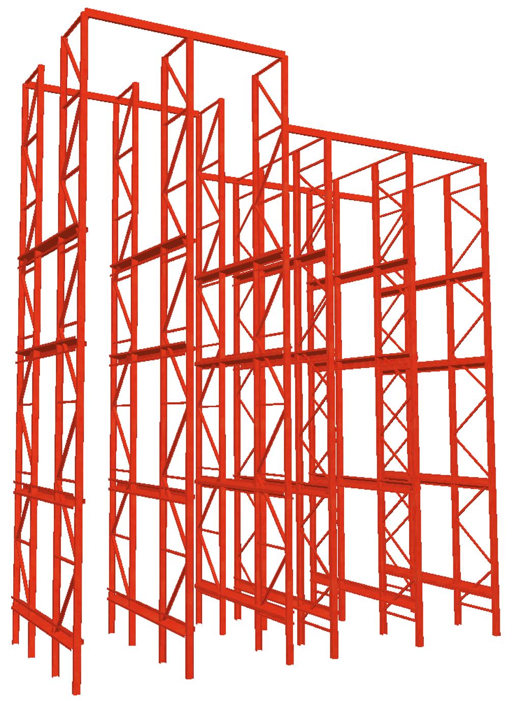 diseño estanteria metalica inspeccion ite