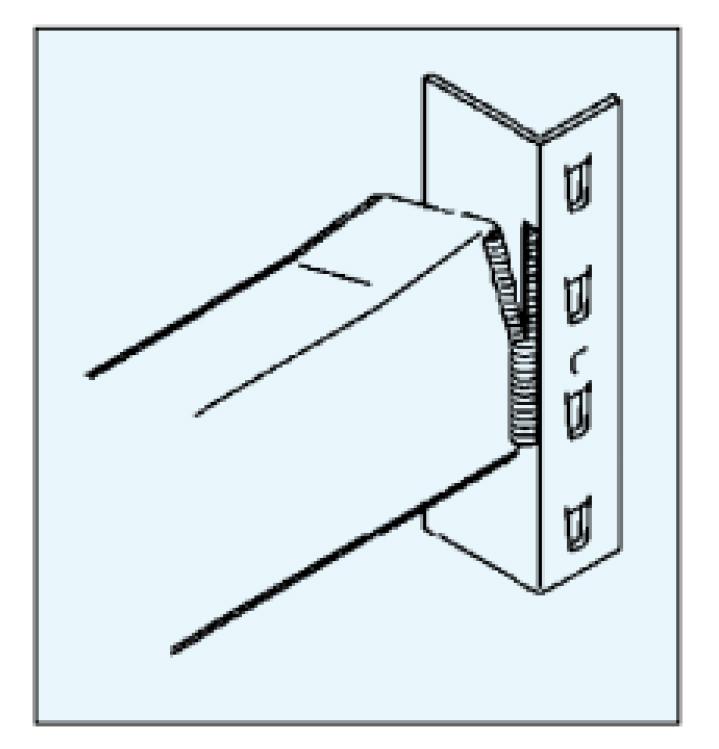 diseño aee soluciones larguero estanteria roto