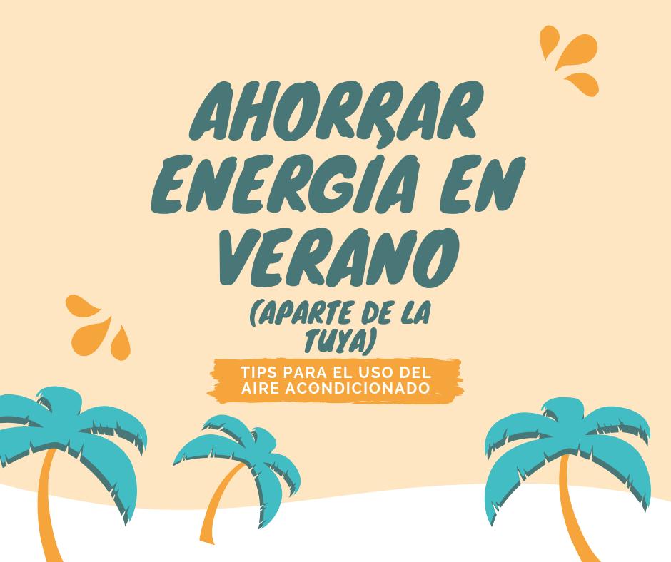 Ahorrar energía en verano