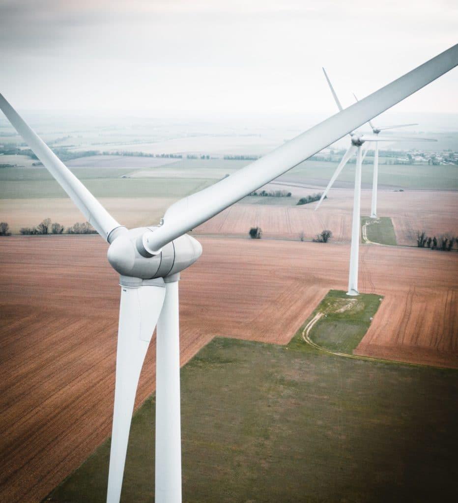 La energía eólica es ejemplo de sostenibilidad