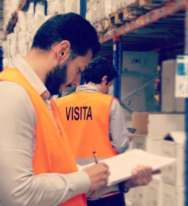 aee soluciones realiza ites inspección técnica estanterías