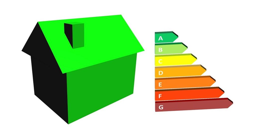 De la G a la A se evaluan los distintos niveles del certificado energetico