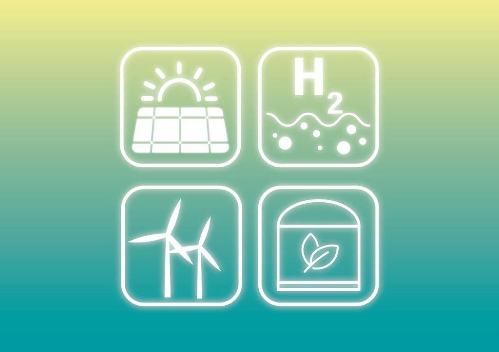 energias renovables de distintos tipos
